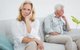 Как пережить развод в зрелом возрасте: причины развода пожилых пар