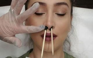 Как убрать волосы из носа