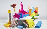 Средства для уборки квартиры: сколько моющих средств необходимо иметь в доме и чем можно заменить «химию»?