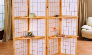Комнатные ширмы в интерьере. Какие существуют виды ширм?
