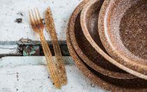 Съедобная посуда своими руками: крахмальные тарелки, желейные стаканчики, хлебные миски