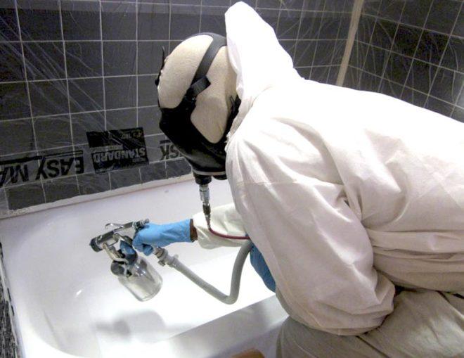 Как обновить чугунную ванну в домашних условиях