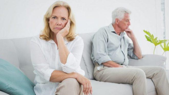 развод в зрелом возрасте