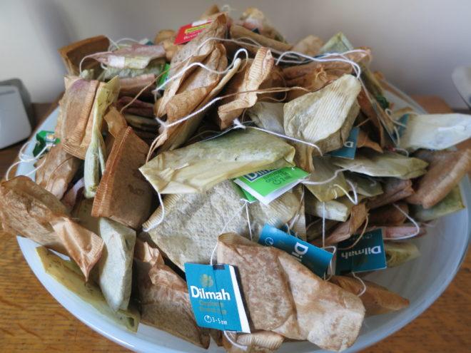 как можно использовать чайные пакетики