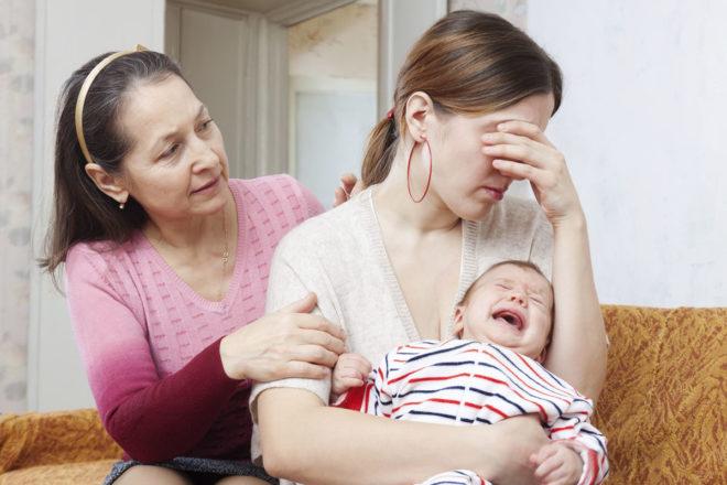 признаки послеродовой депрессии у женщин