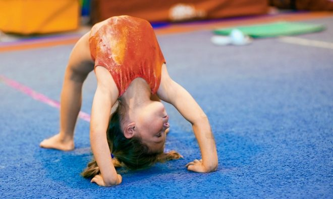 гимнастика для ребенка