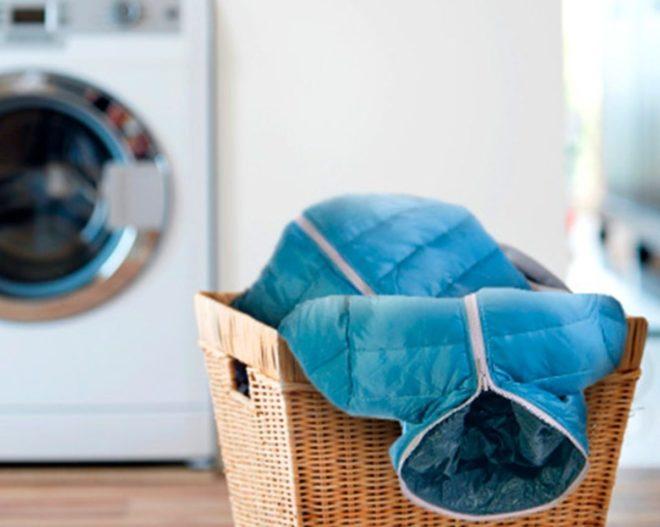 стирка пуховика в стиральной машине автомат