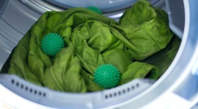 шарики для стирки пуховика в стиральной машине