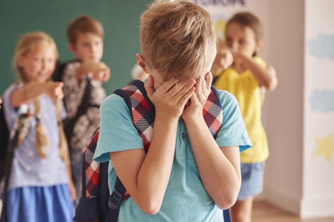 ребенка дразнят в школе
