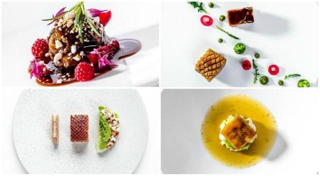 блюда мишленовских ресторанов