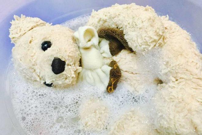 как почистить мягкую игрушку в домашних условиях