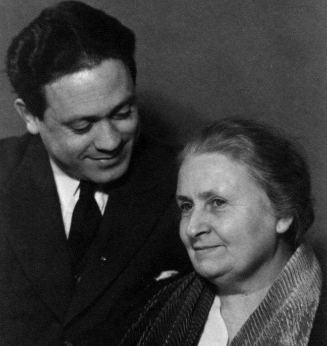 мария монтессори и ее сын