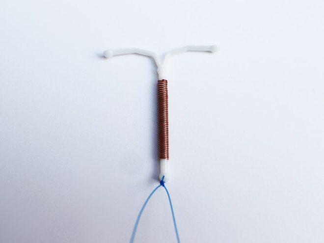 медная спираль внутриматочная